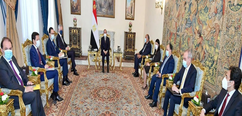 الرئيس السيسي يؤكد ما توليه مصر من أهمية لعلاقاتها مع فرنسا والتطلع لمواصلة العمل المشترك