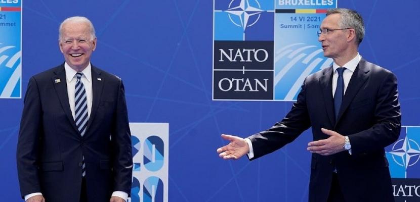 بايدن يتعهد بزيادة الإنفاق الدفاعي في أوروبا وكندا وتكثيف التعاون مع دول الناتو