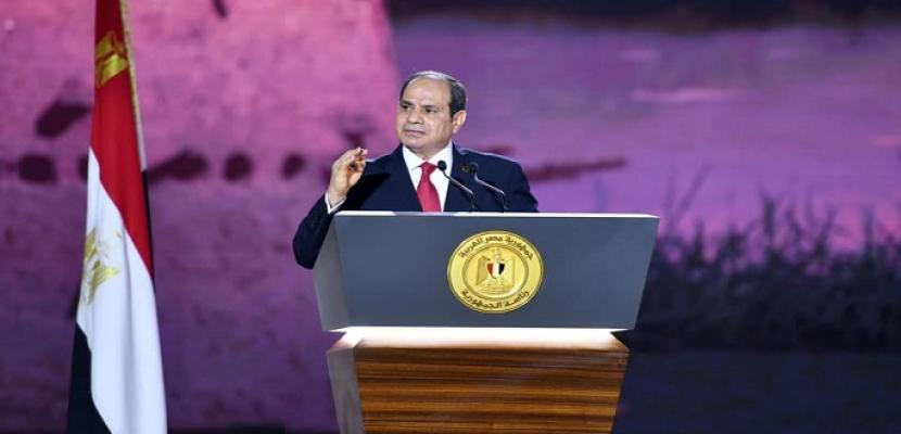 """نص كلمة الرئيس السيسي خلال المؤتمر الأول للمشروع القومي لمبادرة """"حياة كريمة"""""""