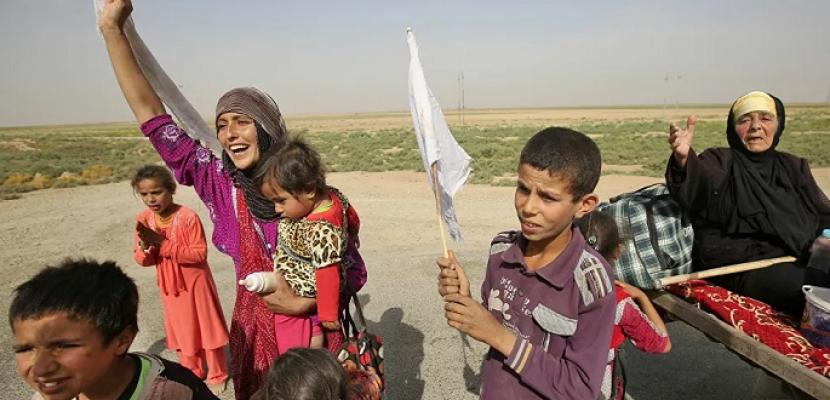 الهجرة العراقية: عودة 296 نازحًا إلى مناطق سكنهم بمحافظة نينوى