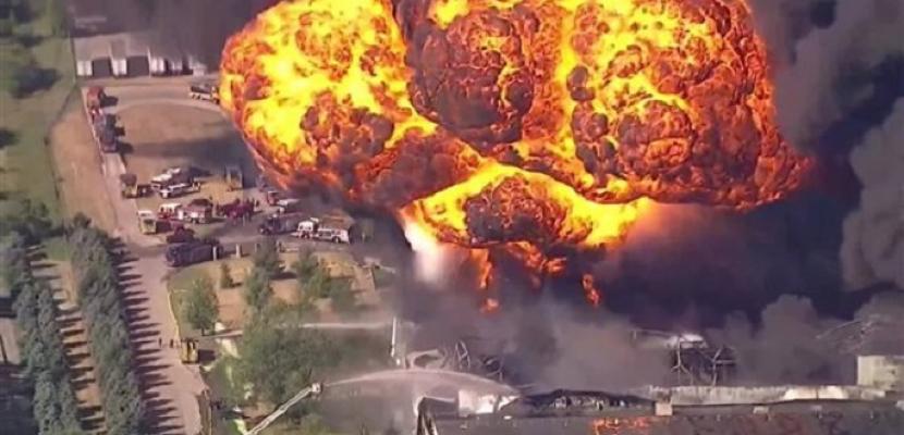 انفجار هائل يهز مجمعا للكيماويات في ألمانيا