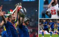 إيطاليا تتوج بكأس الأمم الأوروبية للمرة الثانية في تاريخها بفوزها على إنجلترا 3ـ2 بركلات الترجيح