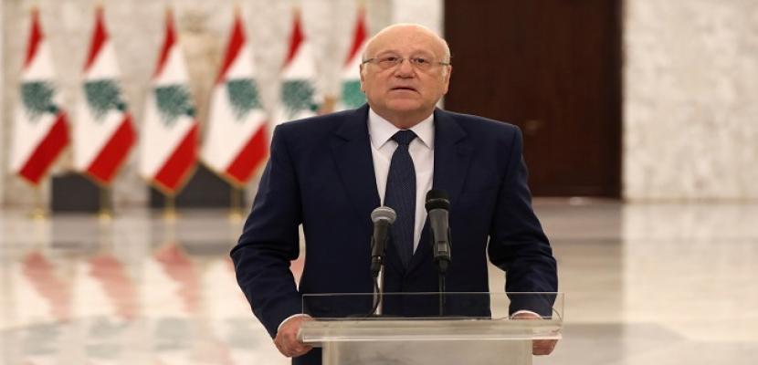 ميقاتي يبحث تطورات الأوضاع في لبنان مع المنسق الخاص للأمم المتحدة
