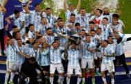 """ليونيل ميسي يهدي فوز الأرجنتين ببطولة """"كوبا أمريكا"""" إلى الراحل ماردونا"""