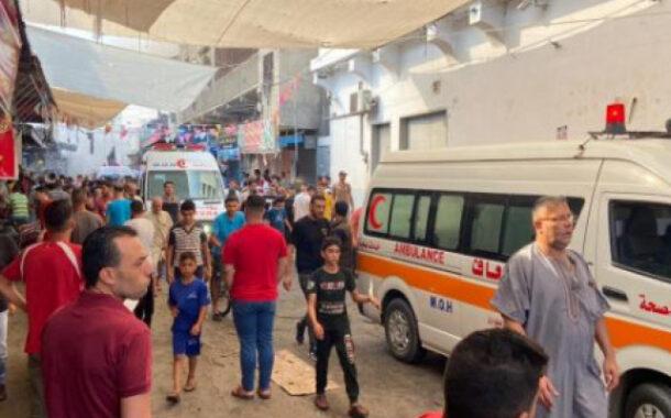 قتيل و10 مُصابين على الأقل في انفجار ضخم يضرب وسط غزة