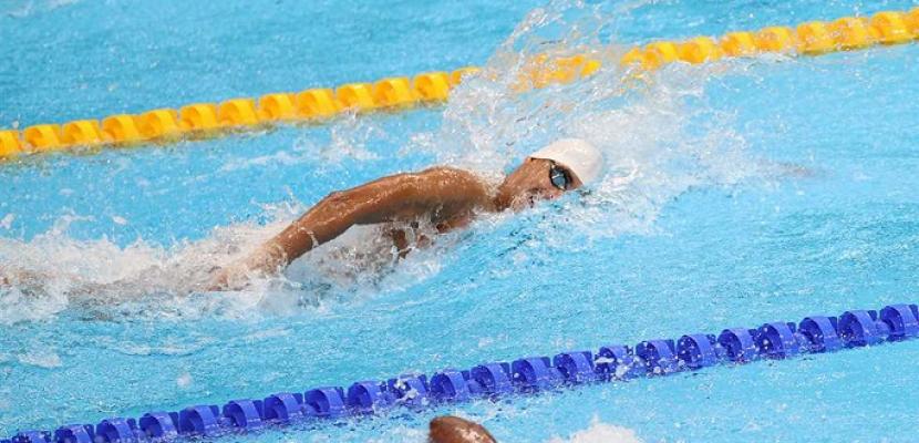السباح يوسف رمضان يتأهل لنصف نهائي سباق 100 متر فراشة بالأولمبياد