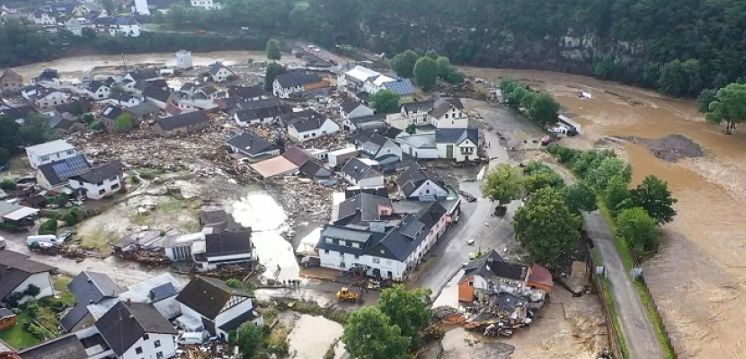 حصيلة الفيضانات في غرب أوروبا تتجاوز 180 قتيلا بينهم 156 على الأقل في ألمانيا