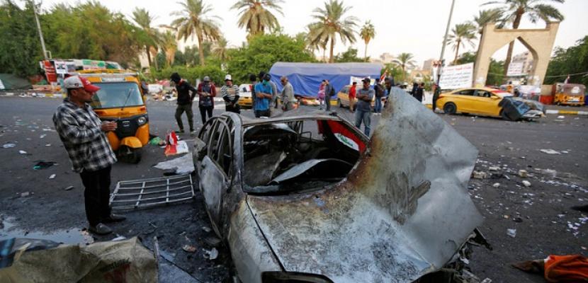 مقتل قائد بالحشد الشعبي وأحد مرافقيه في قصف بطائرة مسيرة في نينوي شمالي العراق