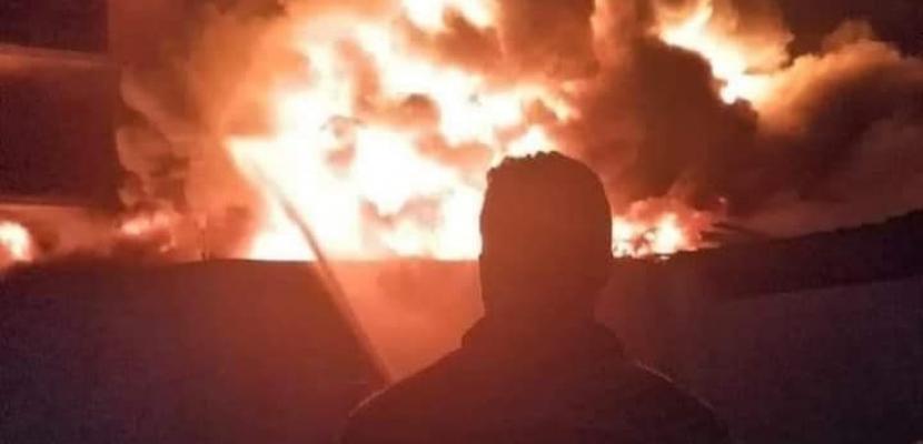 فرنسا: إجلاء آلاف الأشخاص بعد نشوب حريق ضخم جنوب البلاد