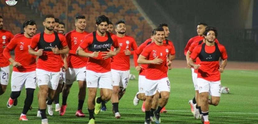 منتخب مصر يختتم استعداداته لمواجهة أنجولا بتصفيات المونديال