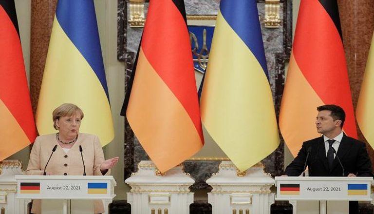 """رسالة تحذير من ألمانيا وأوكرانيا لروسيا بشأن """"نورد ستريم 2"""""""