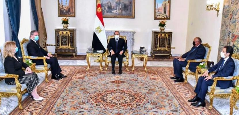 الرئيس السيسي يؤكد اعتزاز مصر بالعلاقات التاريخية مع صربيا