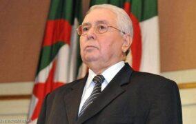 وفاة الرئيس الجزائري السابق  عبد القادر بن صالح