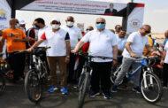 وزير الرياضة ومحافظ القاهرة يفتتحان أُولي المسارات المؤمنة للدراجات