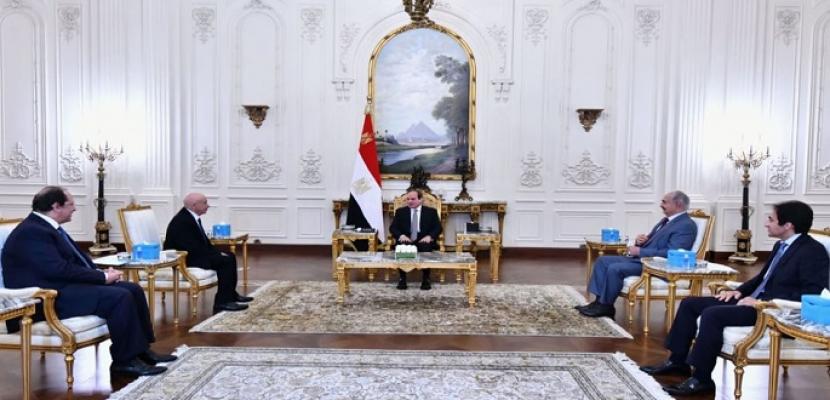 خلال لقائه عقيلة صالح والمشير حفتر.. الرئيس السيسي يؤكد مواصلة التنسيق مع الأطراف الليبية وصولا إلى إجراء الانتخابات